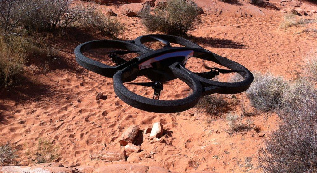 kameras dron